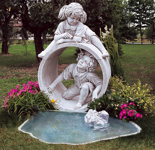 Idee giardino pmc prefabbricati e arredo giardino - Fontane da giardino usate ...