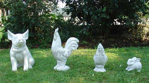 Statue animali pmc prefabbricati e arredo giardino - Statue da giardino in resina ...