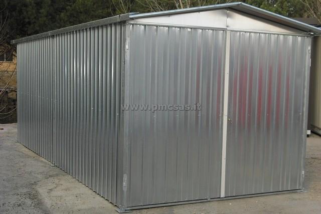 baracca da cantiere in lamiera usata terminali antivento