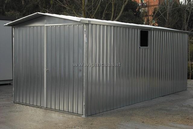 Box lamiera pmc prefabbricati e arredo giardino for Grandi pavimenti del garage
