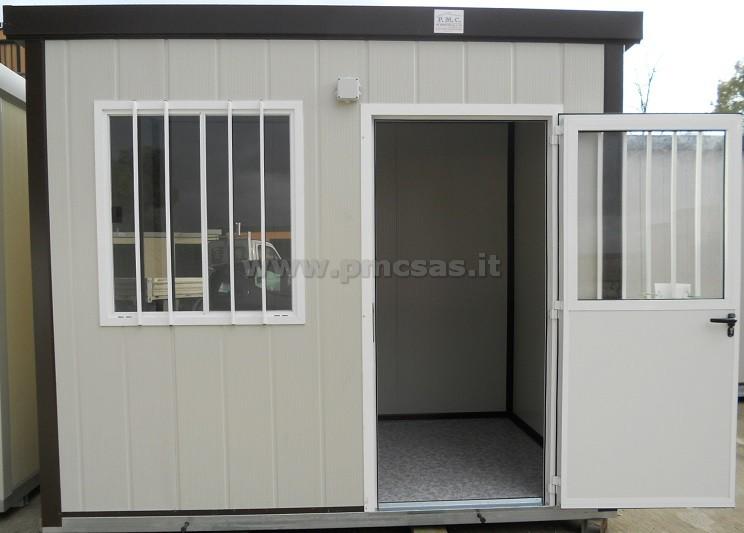 container uso ufficio con tetto a doppia pendenza di mm 2000 x 4000 x ...