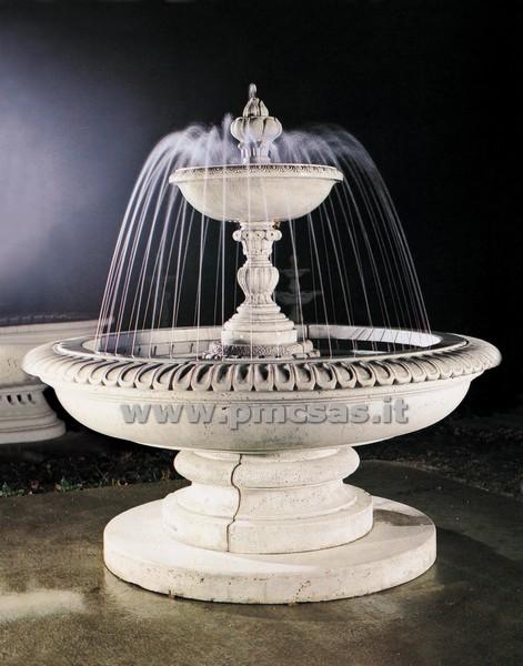 Fontana giardino pmc prefabbricati e arredo giardino for Fontane a cascata da giardino