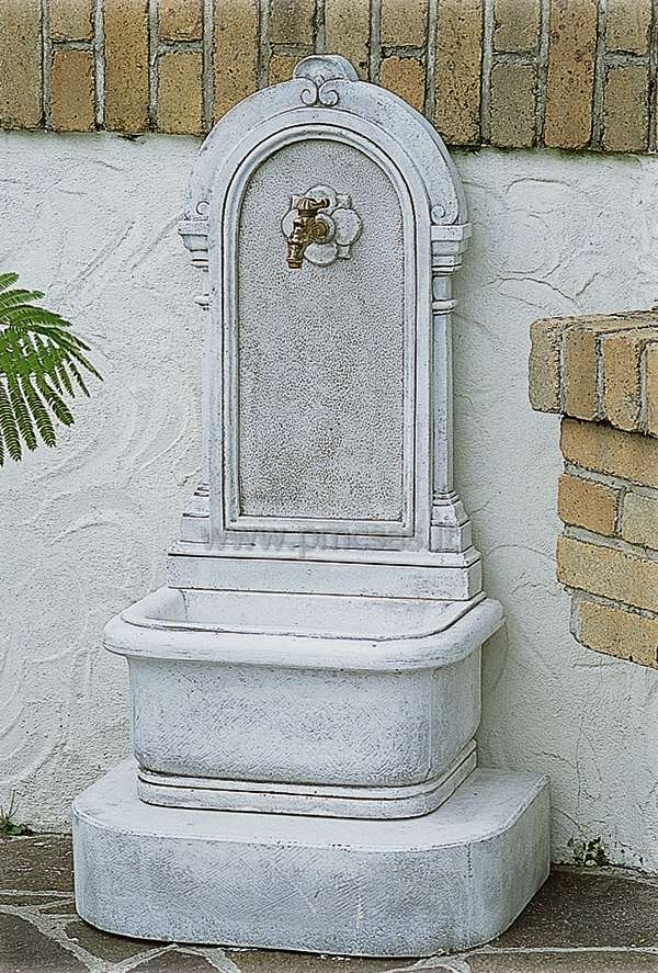 fontane a muro - pmc prefabbricati e arredo giardino