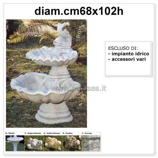 Fontana da giardino   pmc prefabbricati e arredo giardino