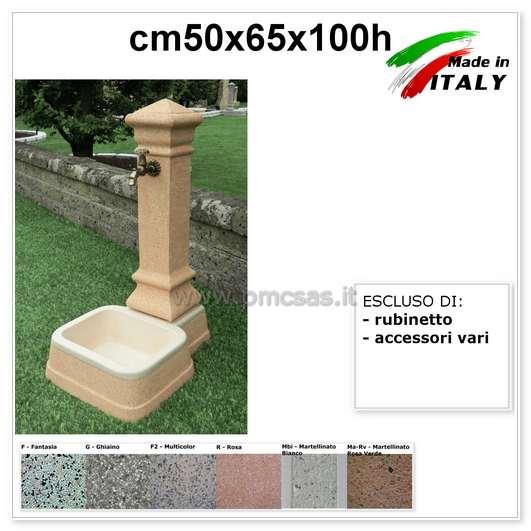 Fontana da giardino pmc prefabbricati e arredo giardino - Foto fontane da giardino ...