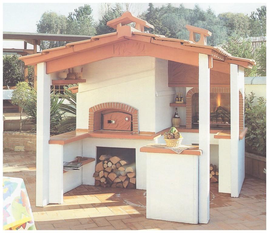 forni a legna prefabbricati da giardino - pmc prefabbricati e arredo ...