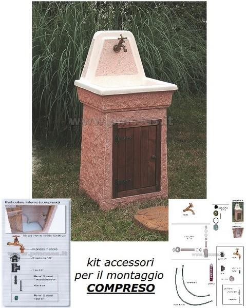 Lavandini per esterno marmolada 540 aq6000mar pmc - Bagni prefabbricati per esterno ...