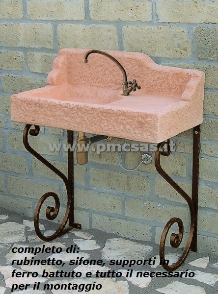 Lavandini per esterno nonna maria 540 aq8000roktab pmc prefabbricati e arredo giardino - Lavandini da esterno ...