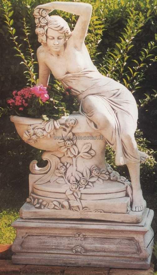 Statue da giardino pmc prefabbricati e arredo giardino - Vasche in pietra da giardino ...
