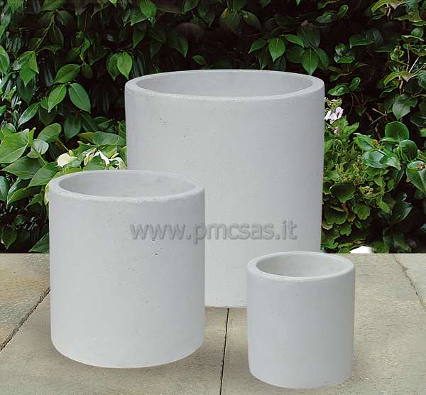 Vasi d arredo pmc prefabbricati e arredo giardino - Vasi moderni da interno ...