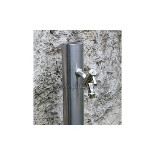 Fontane da giardino acciaio rotondo cm501 inox pmc - Accessori per fontane da giardino ...