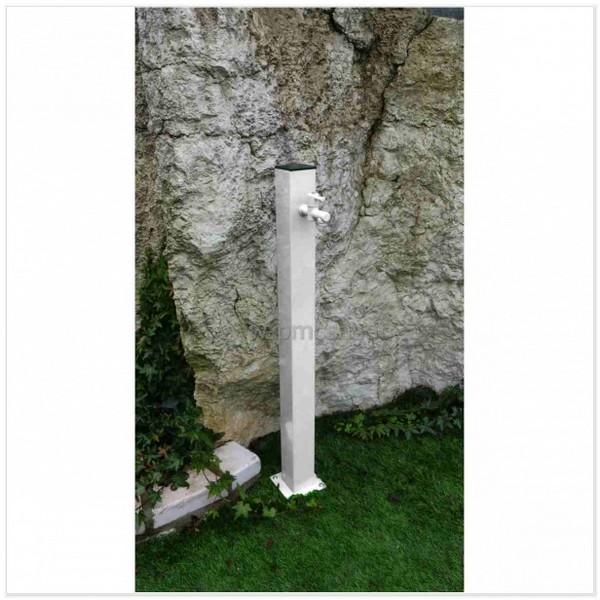 Fontane in ferro da giardino quadrato cm601   pmc prefabbricati e ...
