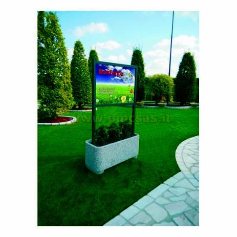 Fioriere arredo urbano pmc prefabbricati e arredo giardino for Arredo urbano roma