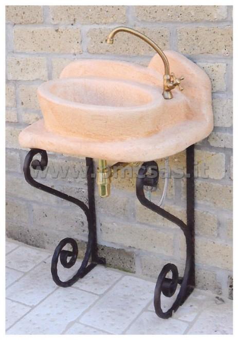 Lavandini da esterno pmc prefabbricati e arredo giardino - Lavatoio in pietra da esterno ...