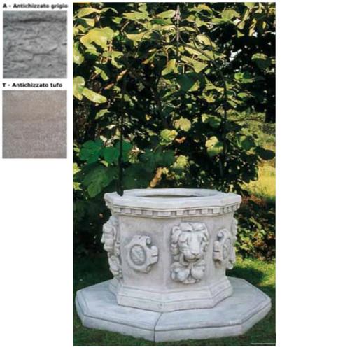 Pozzi da giardino barocco 706 pmc prefabbricati e arredo - Pozzi da giardino ...