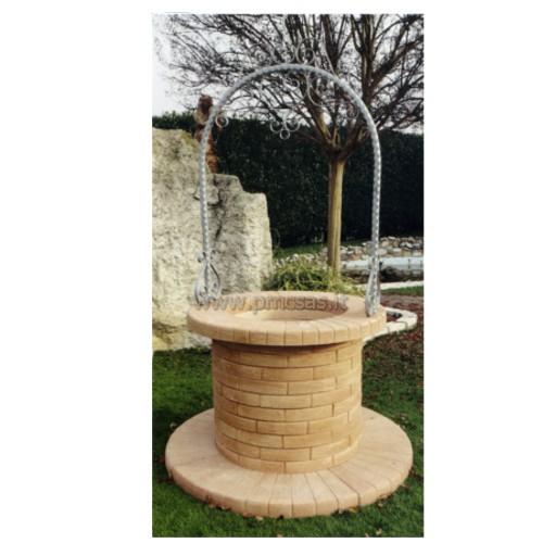 Pozzi da giardino melbourne ar1093 tab pmc prefabbricati for Pozzi finti per giardino