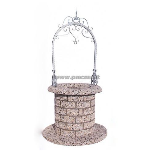 Pozzi da giardino sydney 1089 pmc prefabbricati e arredo for Pozzi finti per giardino