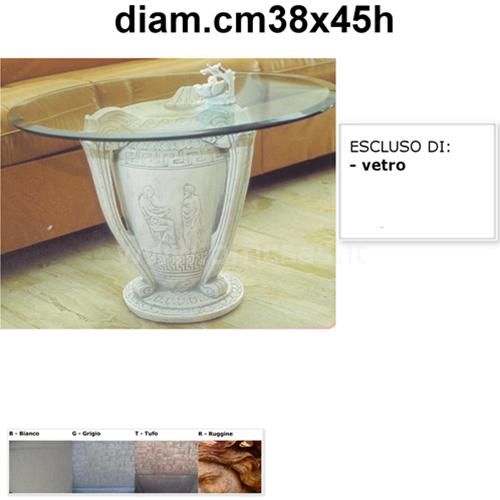 Base Per Tavolo Di Cristallo.Base Per Tavolo Anfora Diam Cm38x45h Tavolino Con Vetro Ebay