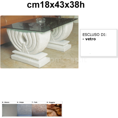 Base Per Tavolo Di Cristallo.Base Per Tavolo Singola Lira Cm18x43x38h Tavolo Con Vetro Ebay